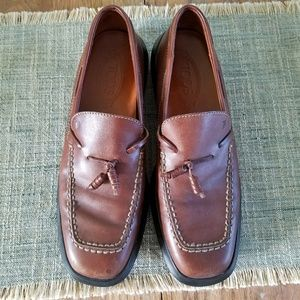 Men's Tod's Brown Leather Shoes 7-7.5 (40)